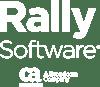 Rally CA Broadcom logo white